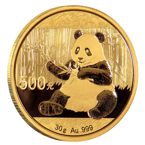 China Panda Gold Coin